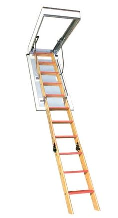 """Bessler BE-119 One Hour Fire Rated Attic Stair - 22""""W x 60""""L x 10'8""""H"""