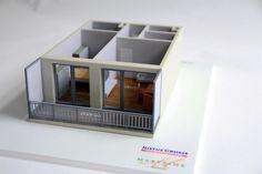 Modell zur Vermietung noch nicht gebauter Wohnungen in Bremen