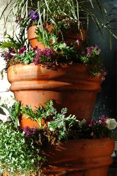 How to make 3 tiered planter