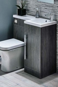 Bathroom Decor Gene Toilet And Sink Unit Bathroom Toilets Space Saving Toilet