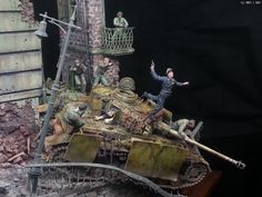카우보이 스타일 Panzer Iv, Model Pictures, Model Photos, Just Miniatures, Tilt Shift Photography, Model Maker, Model Tanks, Military Modelling, French Army