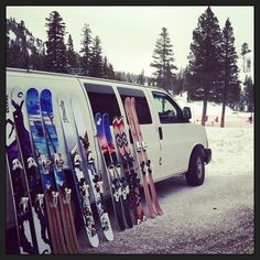 Handcrafted/Skiercrafted here in Tahoe:) Praxis Skis