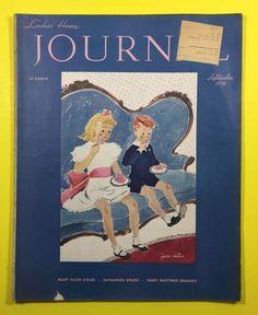 1936 LADIES HOME JOURNAL Magazine - September
