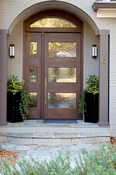 Cute Contemporary Front Doors Design 28 Contemporary Front Door Designs Uk Modern Front Door Home Modern Exterior Doors, Modern Exterior, Front Door Entryway, House Front, House Exterior, Exterior Front Doors, Front Door Design