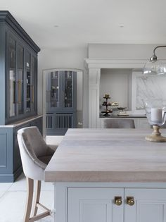 We Love the Work Top on the Island in this Dream Kitchen