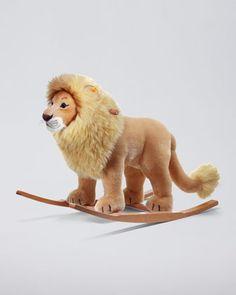 "Steiff Leo Riding Lion, 28"" - Neiman Marcus"
