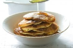 Nejjednodušší (a nejlepší) ovocné knedlíky | Apetitonline.cz Pancakes, Food And Drink, Menu, Breakfast, Menu Board Design, Pancake, Morning Breakfast, Crepes