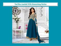 Kirti Senan Designer Teal Anarkali Suit. log on to @ www.panacheindia.com #new #images #colorful #indian #bollywood #designer #latest #indianwear #india #indian #ethnic #ethnicwear #indianethnicwear #chudidar #anarkali #anarkalisuits #women #fashion #traditional #cultural #indiantradition #indianculture #unique