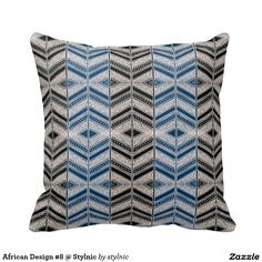 African Design #8 @ Stylnic Throw Pillows