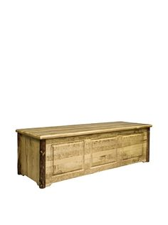 Montana Woodworks Glacier Country Blanket Chest