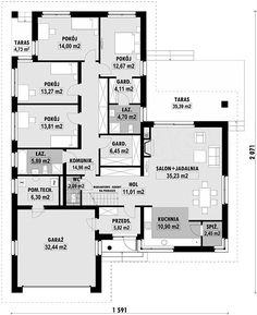 Quartz 3774 Brick Houseplans Under 200k