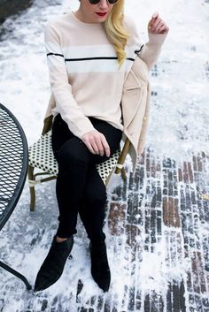 Atlantic-Pacific is a fashion and personal style site by Blair Eadie. Nyc Girl, Atlantic Pacific, French Chic, Classy And Fabulous, Look Chic, Well Dressed, Everyday Fashion, Autumn Winter Fashion, What To Wear