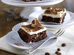 Weihnachtskuchen für die festliche Kaffeetafel - kaffee-brownies