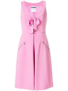 MOSCHINO bow tie bustier dress. #moschino #cloth #