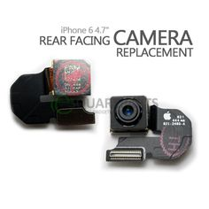 "iPhone 6 4.7"" Rear Facing Camera Replacement #iPhone6 #RearCamera #MainCamera #PrimaryCamera #ReplacementParts #RepairParts #FlexCables #InternalParts #Apple"