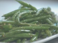 Get Heavenly Sauteed String Beans with Garlic Recipe from Cooking Channel