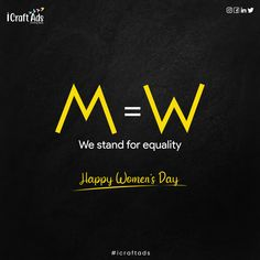 """""""Our vote goes to the Equality today and Everyday. 👩🏻💼✨ . Happy International Women's Day ✨😇"""" . . . #internatinalwomensday #8thmarch #womensdayquotes Happy Woman Day, Happy Women, Womens Day Quotes, 8th Of March, Ladies Day, Equality, Digital Marketing, Instagram, Social Equality"""