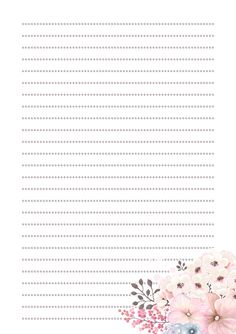 Printable Lined Paper, Free Printable Stationery, Free Printable Calendar, Journal Paper, Journal Cards, Notebook Paper, Vintage Lettering, Stationery Paper, Note Paper