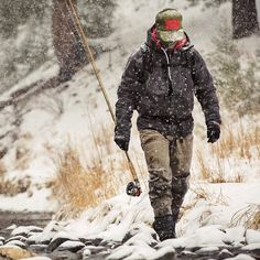 Cold weather fishing