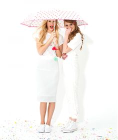 don't let a little drizzle ruin your day (or your hair) | ban.do rain or shine umbrella