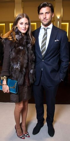 Olivia Palermo and Johannes Huebl: Their Most Stylish Couple Moments - January 23, 2013 from #InStyle