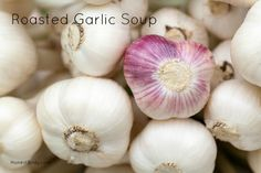 Roasted Garlic Soup {GAPS, Primal/Paleo, Gluten Free, Grain Free} - Honest Body - GAPS Diet and Nutritional Therapy