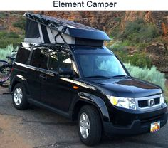 Ursa Minor Conversion On A Honda Element Overland Pinterest