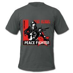 no war, kalki design, tk design, peace fighter