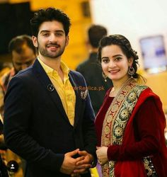 muneeb butt and aiman khan real life couple