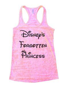 Disney's Forgotten Princess Burnout Tank Top By BurnoutTankTops.com - 804
