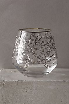 Etched Fern Old Fashioned #anthropologie