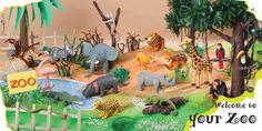 Plastelina.Escenari zoo. Bernadette CUXART Conte, Cute Drawings, Animals, Unity, Beautiful Drawings, Animaux, Animal, Animales, Cute Doodles