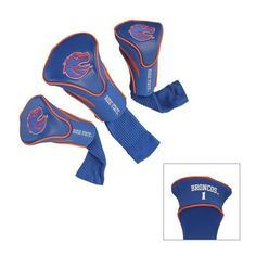 Boise State Broncos Contour Gollf Club HeadCover - 3 Pack