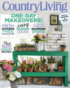 Country Living magazine, subsciption