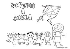 Accoglienza - Benvenuti a scuola - TuttoDisegni.com
