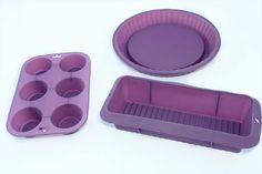 KIT DE 3 MOLDES DE SILICONA PARA TARTAS CON DELANTAL CHEF PASTELERO 40€ - #MoldesdeSilicona para hacer tus propias #tartas, #bizcochos y #madalenas a tu gusto! Incluye delantal en color rojo o negro (no elegible). Apto para #horno, #microondas y #congelador. Lavable en lavaplatos - #OFERTA de #LANZAMIENTO de http://www.amazon.es/gp/aag/main?seller=A1QPL980FAHTMT