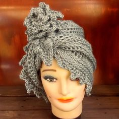 Crochet Hat Women Couture  LAUREN Cloche Hat by strawberrycouture, $40.00