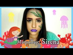 Maquillaje Sirena | Carnavales 2017 🎭