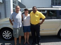 Edward and Linda from Rocky Mount NC wanted the best deal and they found it online at leecdjr.com and they came in and grabbed this 2011 Chrysler Town & Country. Thank you Edward and Linda for your business. Their salesman is Tony Oxendine.