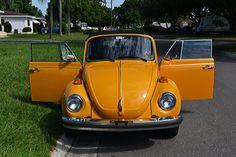 1978 VW Volkswagen Super Beetle Convertible 4 speed manual