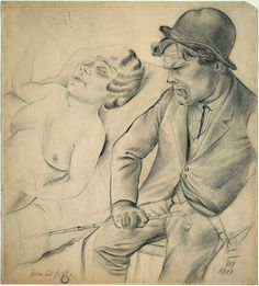 Otto dix drawing