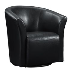 Delicieux Ranby Faux Leather Wrap Around Swivel Chair   Overstock™ Shopping   Great  Deals On