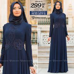 Tesettürlü Abiye Elbise - Kolları Detaylı Lacivert Tesettür Abiye Elbise 7539L #tesettur #tesetturabiye #tesetturgiyim #tesetturelbise #tesetturabiyeelbise #kapalıgiyim #kapalıabiyemodelleri #şıktesetturabiyeelbise #kışlıkgiyim #tunik #tesetturtunik
