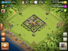 Clash of Clans Base Designs Town Hall Level 5
