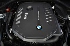 2017 BMW 5-Series TwinPower Turbo engine.