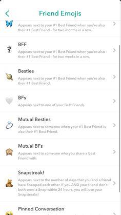 Snapchat Streak Emojis, Snapchat Phone, Snapchat Posts, Snapchat Names, Snapchat Selfies, Snapchat Stickers, Instagram And Snapchat, Snapchat Best Friends, Snapchat Friend Emojis