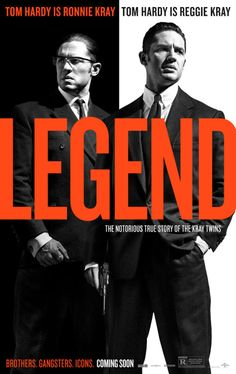 Tom Hardy is brilliant as the Krays. A bit slow in parts but a fascinating insight into the urban myths that surround that era.