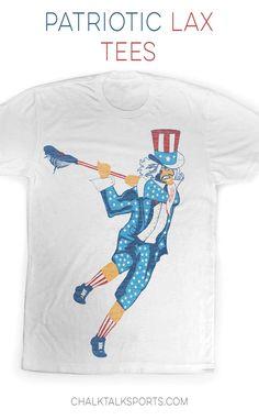 Uncle Sam Lacrosse Tee.