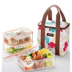 lunch box set with bag - Google Search