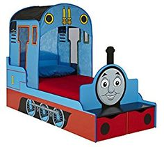 Thomas the Tank Engine Kids Toddler Bed with Underbed Storage HelloHome: Amazon.co.uk: Toys & Games